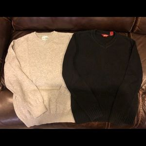Lot of 2 Boys Sweaters Size Large 10/12